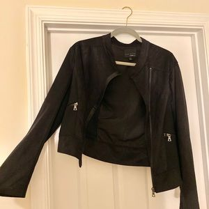 Black Suede Blazer/Jacket